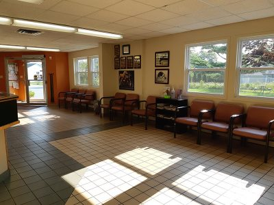 Kentville Clinic - Waiting Room
